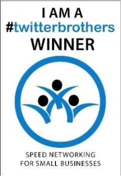 1029C - twitterbrothers Winners Window Cling