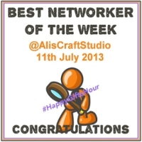 1059CL -  HappyGiftsHour Award Window Cling