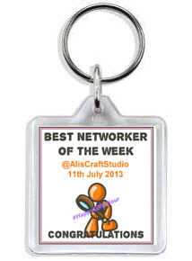 1059K - HappyGiftsHour Award Winners Keyring