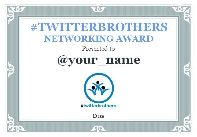 1032 - Twitterbrothers Winner's Certificate