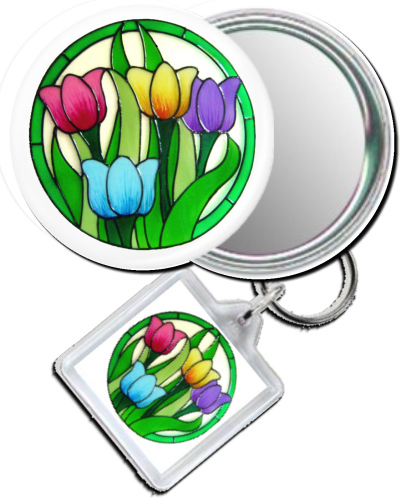 1083 - Colourful Tulips Gift Set