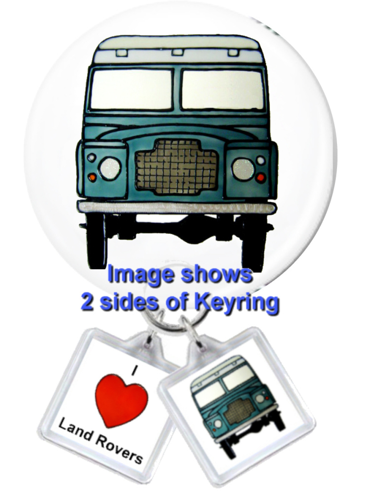 1083LR - I Love Landrovers Gift Set