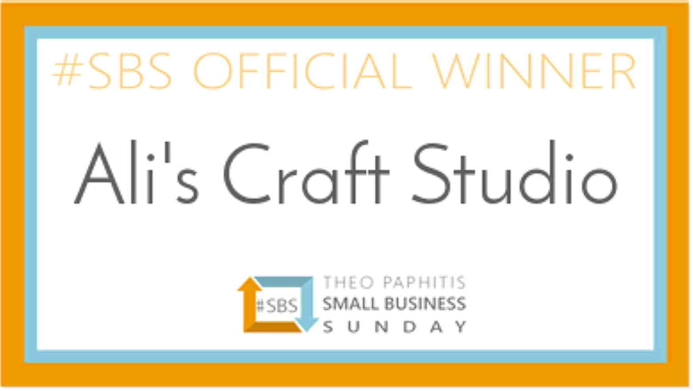 987 - Large Size Award Window Cling or Sticker (Double Sided)