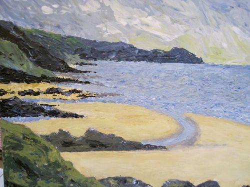 RA McEvoy, Margie seascape