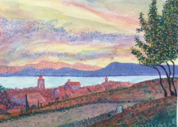 RA Reece, Robert Signac View of St Tropez