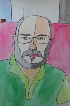 RA Chambers, Steve self-portrait