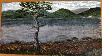 RA Morel, Paul Loch Lomond (on wood)
