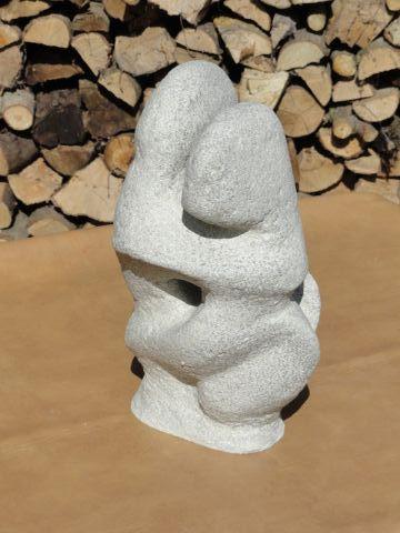Couple  ________________________________  papier-mache  (34cm x18cm x 16cm)           £50
