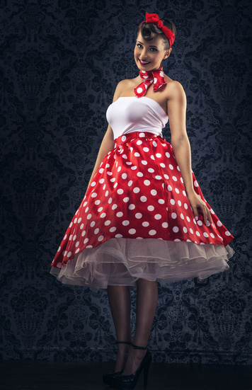 Retro Vintage Petticoat