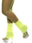 Neon Yellow Legwarmers