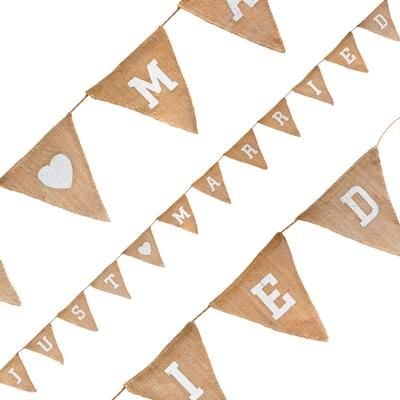 Oaktree Hessian Mr & Mrs Bunting