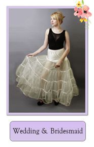 Bride and Bridesmaids - Flower Girl Net Underskirts