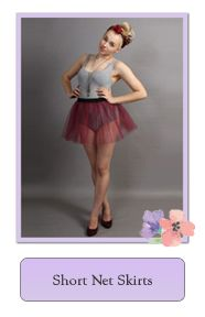 Short Net Skirts and Tutus