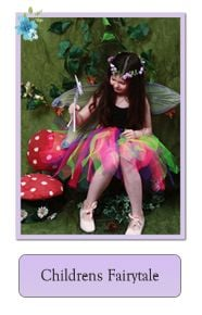 Kids Fairie Fairy Tutu Net Skirts