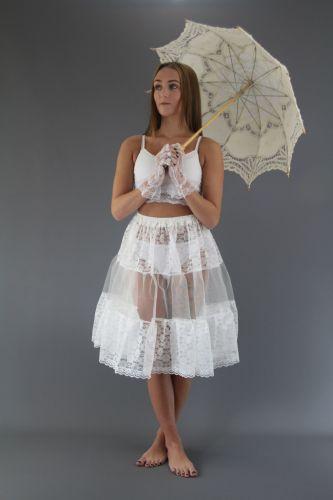 Lace Petticoats & Slips