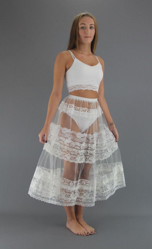 Lace-Underskirt