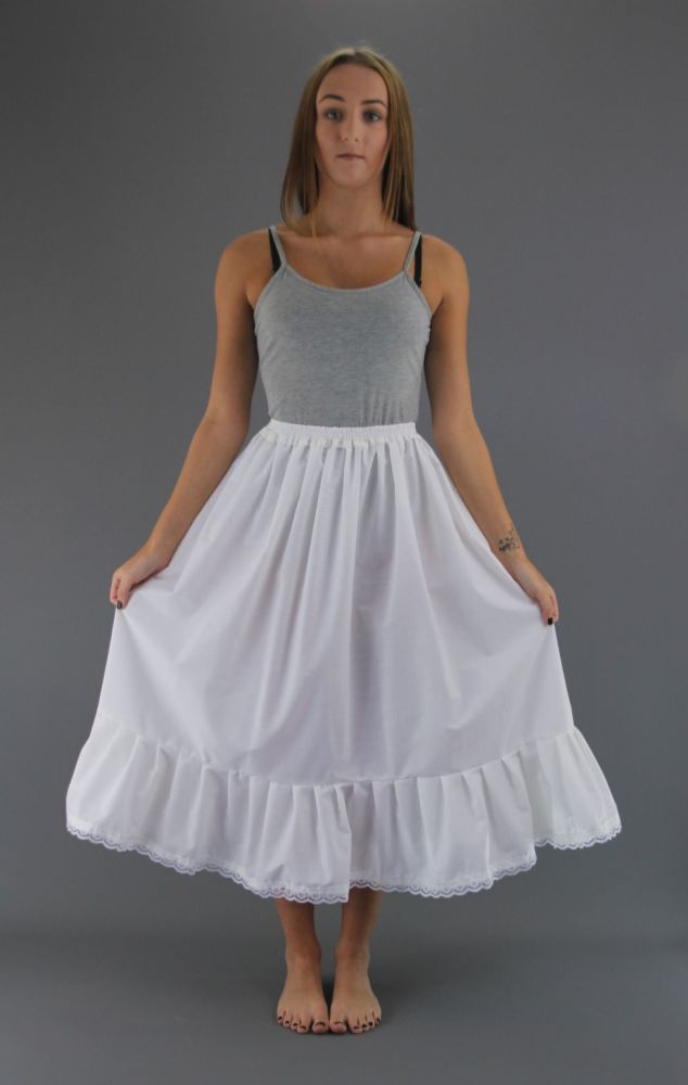 White-Cotton-Petticoat-Lace Trim