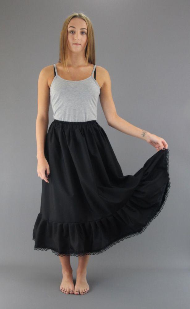 Lace-Trim-Black-Cotton-Petticoat