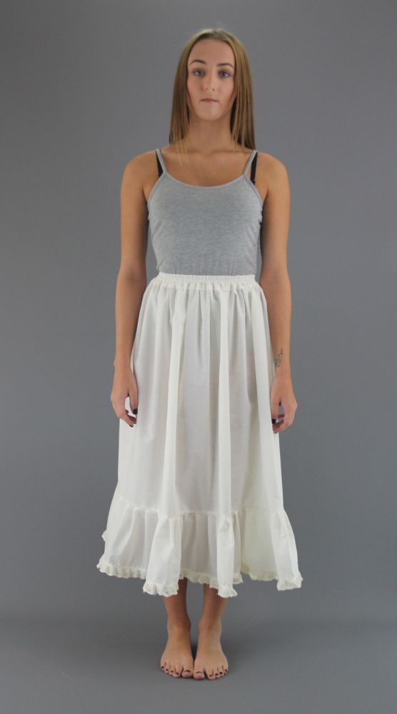 Ivory-Cotton-Petticoat-Broderie Anglaise