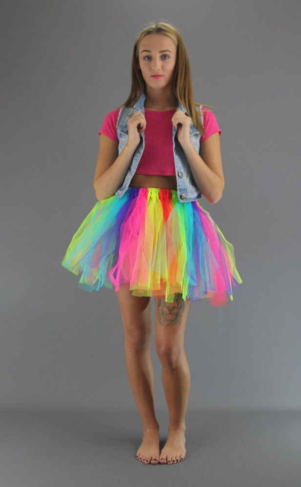 6-Colours-Fairy-Punk-Skirt