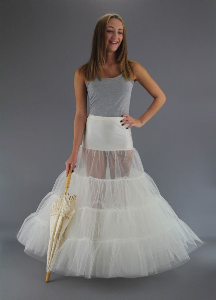 Full-Length-Plain-Tiered-Petticoat