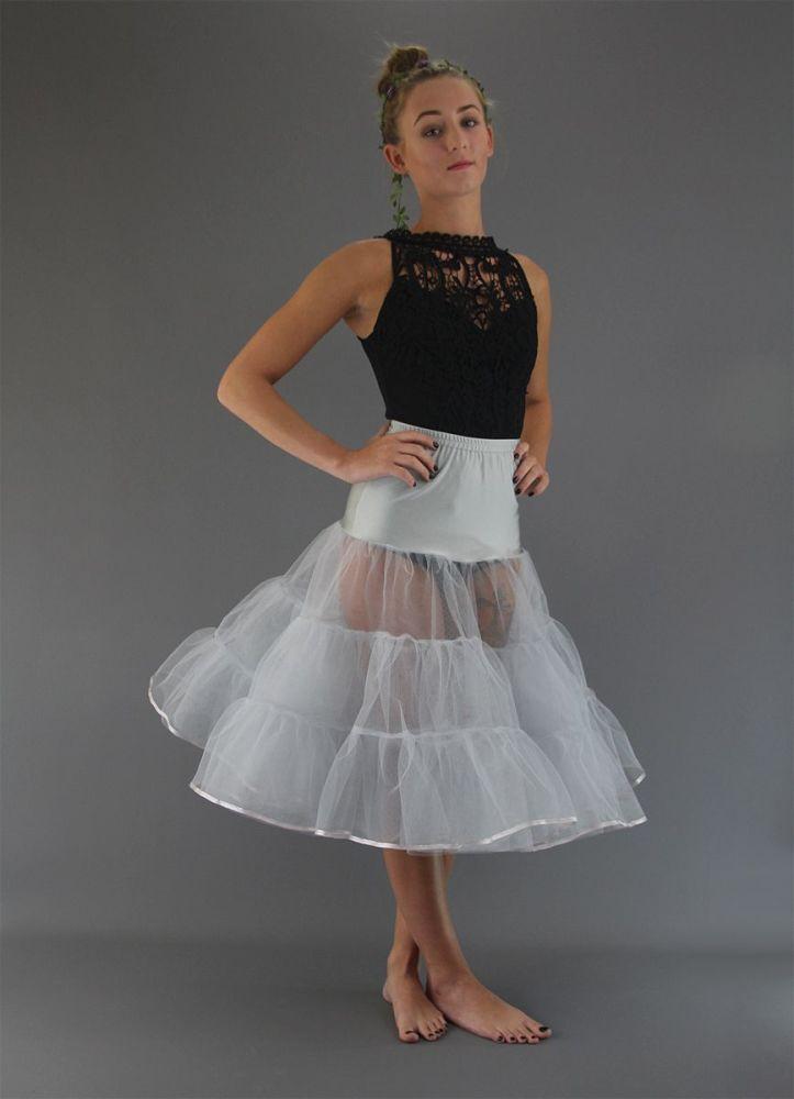 Silver-Grey-5-Layers-Petticoat