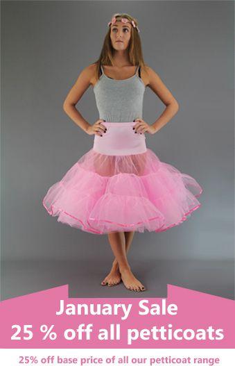Net Skirt & Petticoat Sale - 25% Off