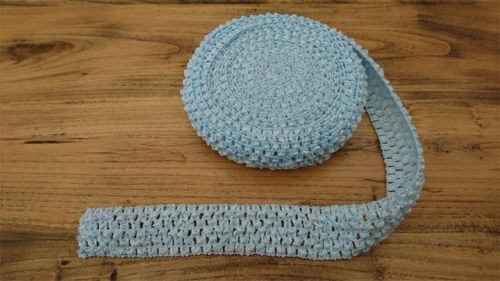 <!-- 020 -->Pale Pink Crochet Tutu Top Elastic