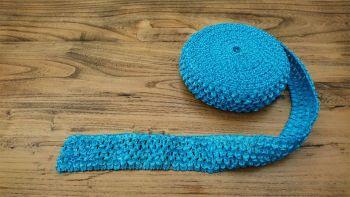 Turquoise Crochet Tutu Top Elastic