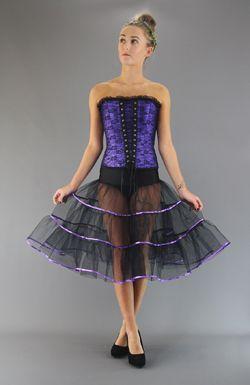 Gothic Net Skirts