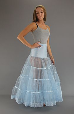 Long Net Skirts