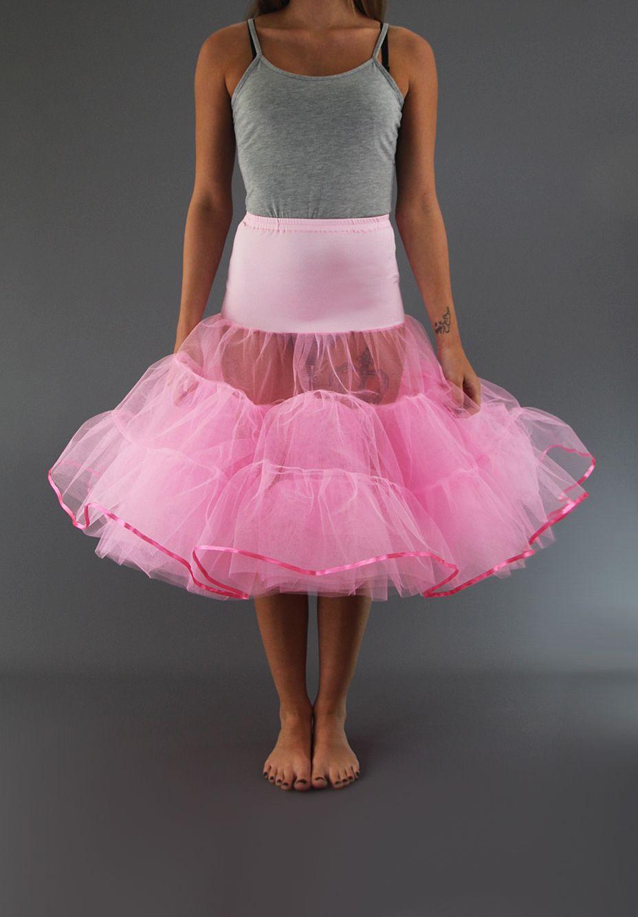 Rockabilly Tiered Petticoat