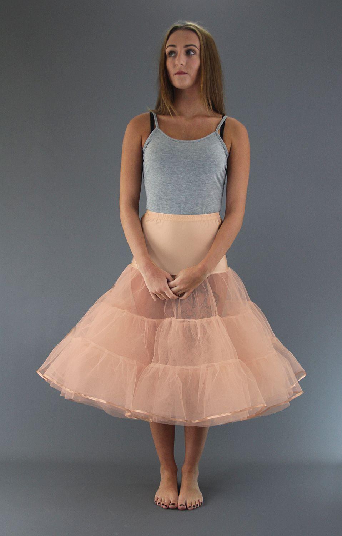 Peach Petticoat