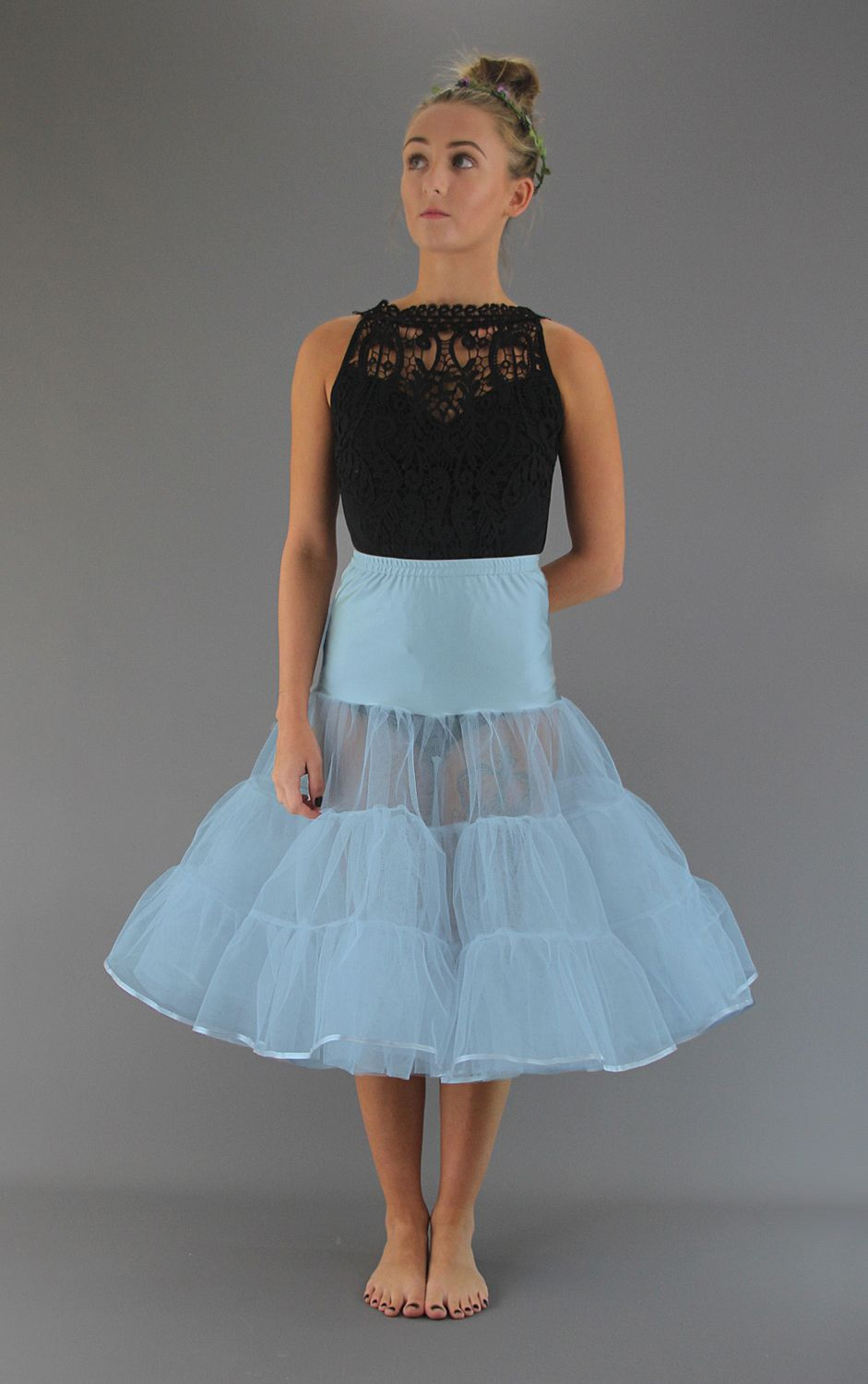 Pale Powder Blue Petticoat