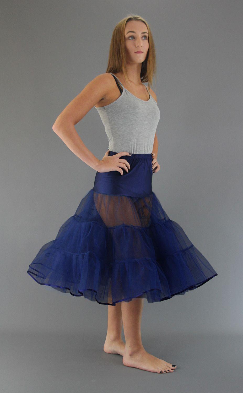 Navy Blue Petticoat