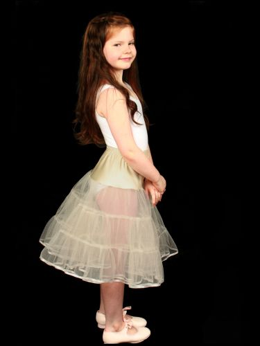 Childrens-Ivory-Tiered-Petticoat