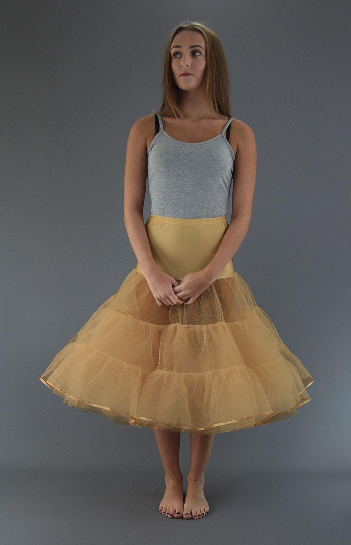 Matt Gold Petticoat
