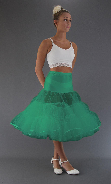Jade Green Petticoat