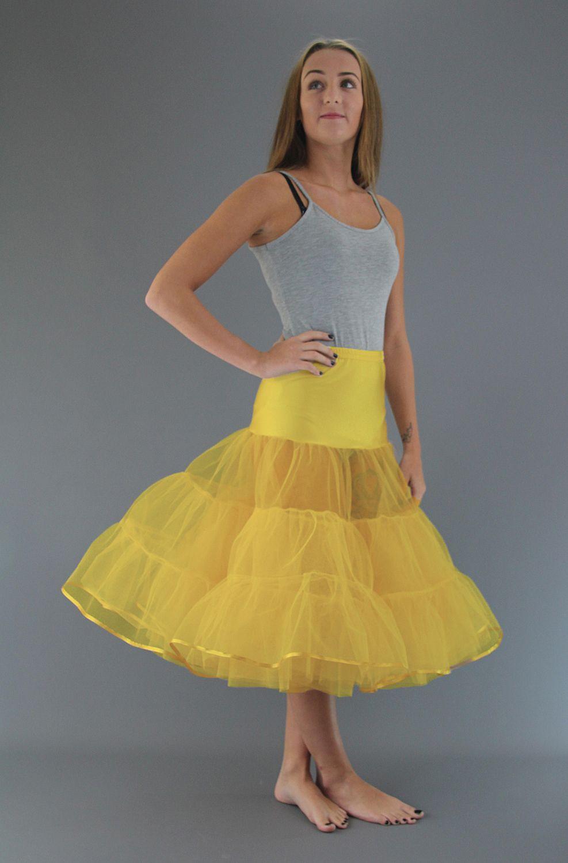 Primrose Yellow Petticoat