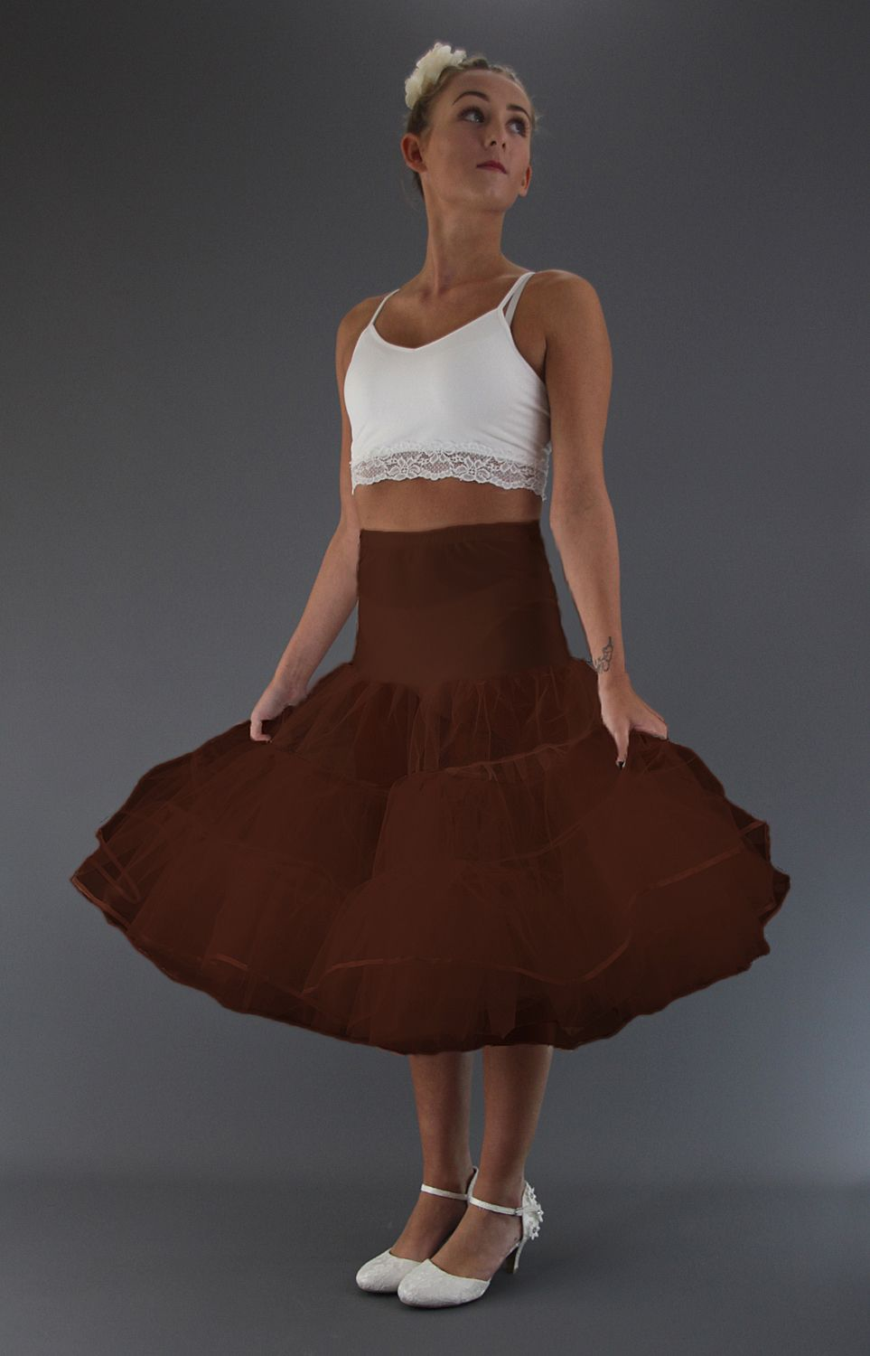 Coffee Brown Petticoat