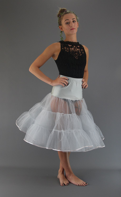 Silver Grey Petticoat