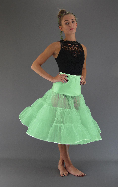 Pale Green Petticoat