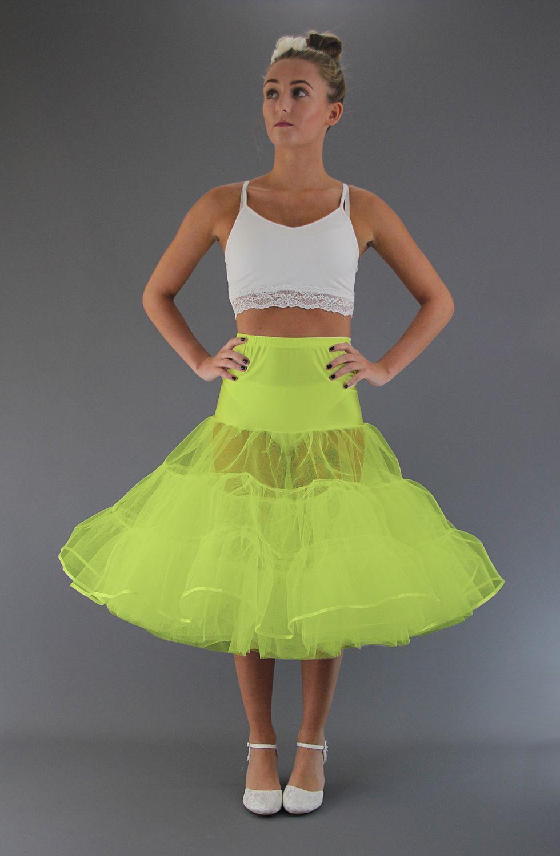 Flo Neon Yellow Petticoat