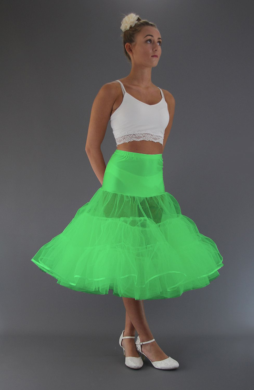 Flo Neon Green Petticoat