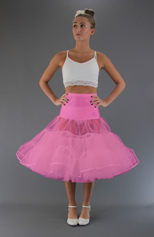 Flo Neon Pink Petticoat