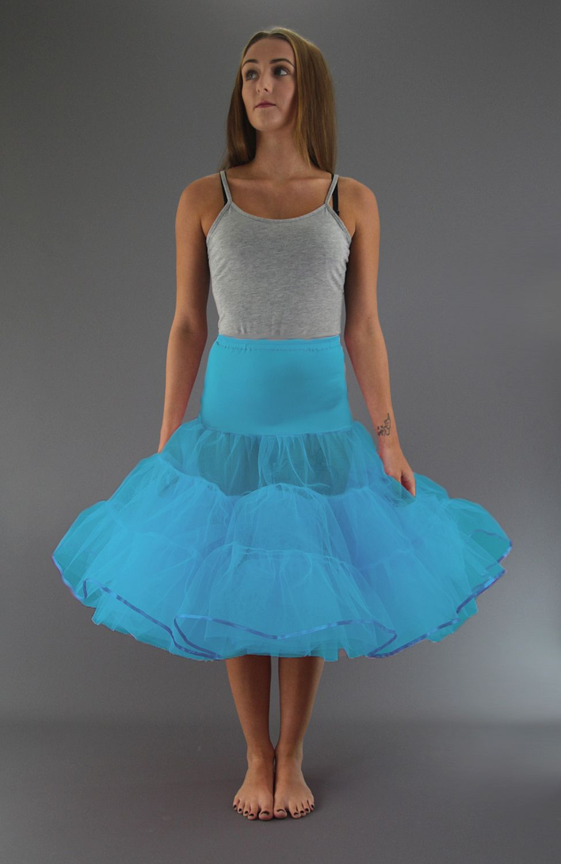 Turquoise Petticoat