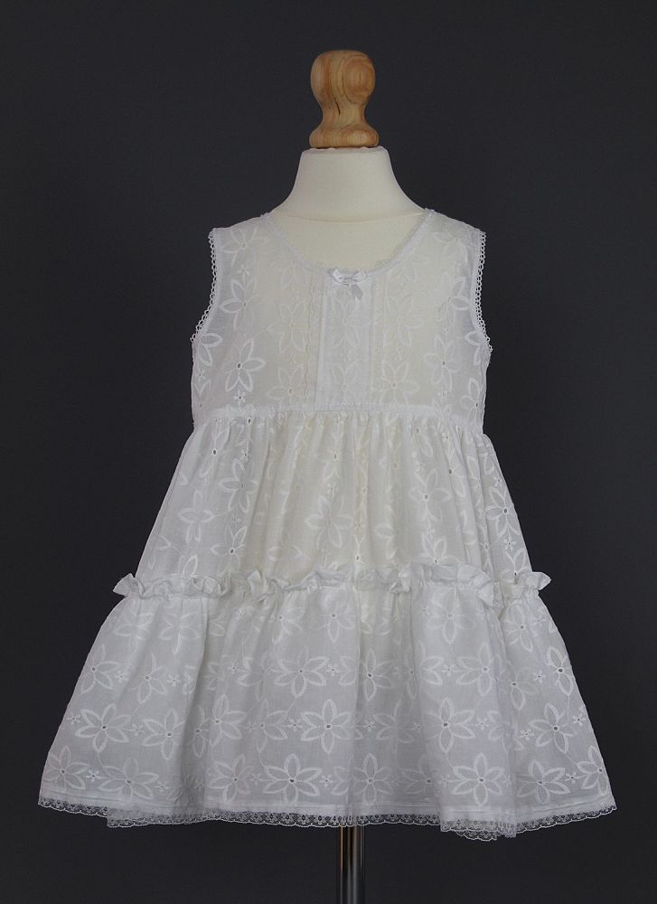 Embroidered Toddlers Petticoat Slip