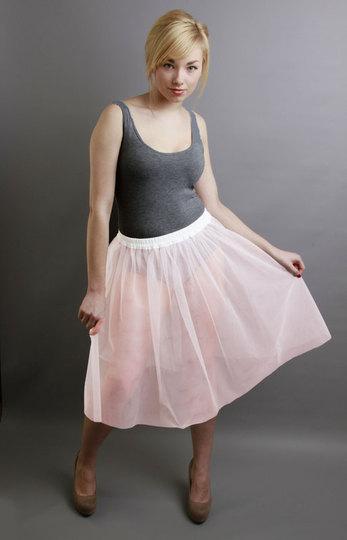 B3 Baby Pink Net Underskirt