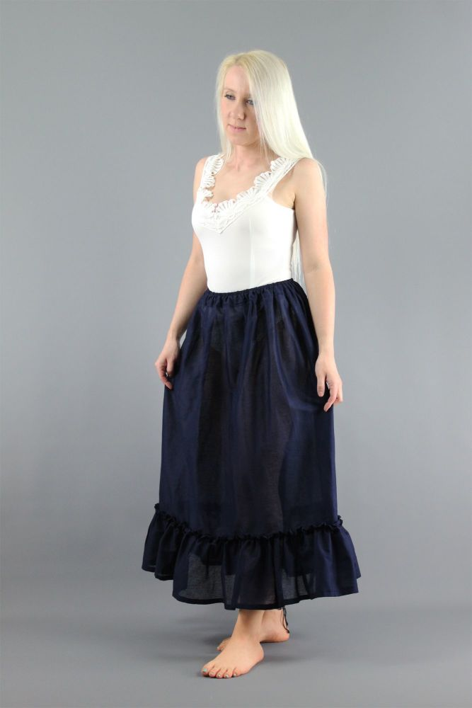 Navy-Cotton-Lawn-Petticoat