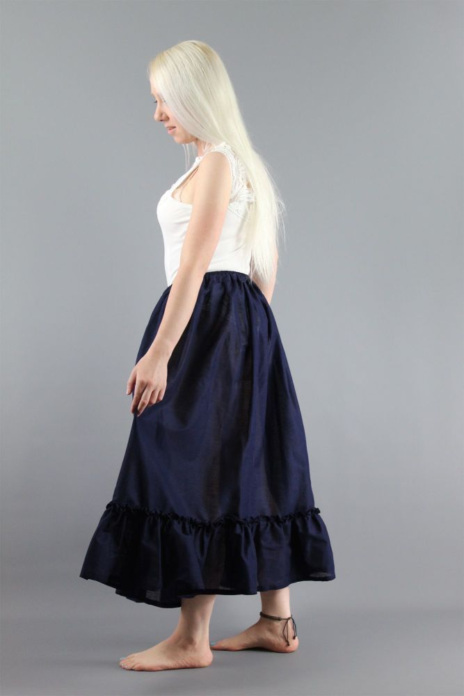 Plain-Navy-Cotton-Lawn-Petticoat